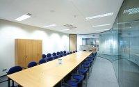 Sala konferencyjna, sufit podwieszany