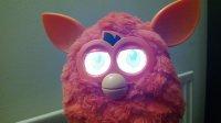 Świecące oczy Furby